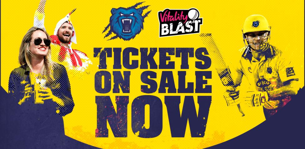 Birmingham Bears T20 cricket - £15 tickets and under 16s go free