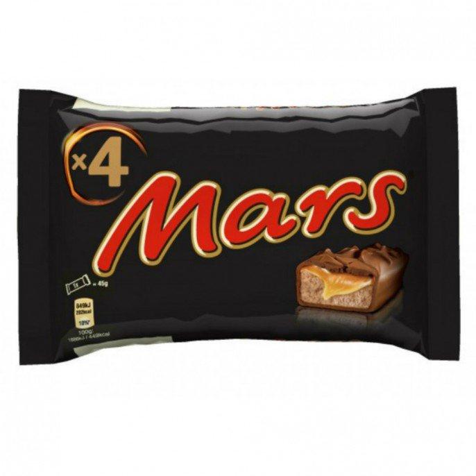 4x 45G Mars Bars Now 50p @ Poundstretcher