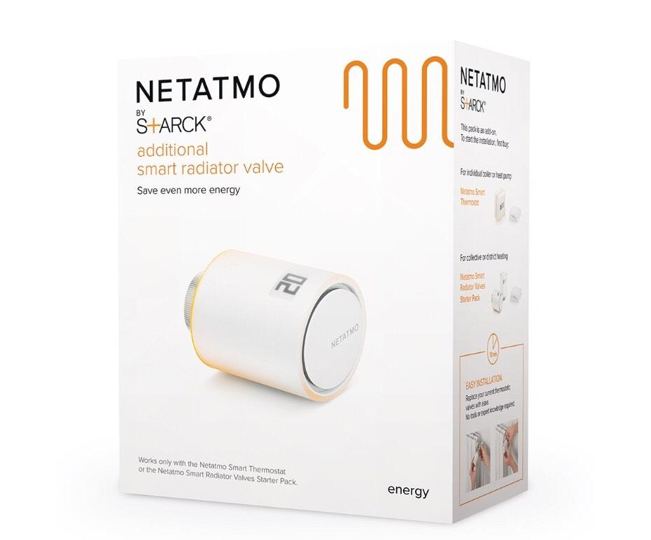Netatmo Radiator Valve - Apple Homekit / Alexa / IFTT £54.99 @ The Electrical Showroom