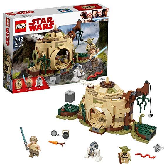 LEGO 75208 Star Wars Yoda's Hut Building Set. @ Amazon for £16.89 (Prime) / £21.38 (non Prime)