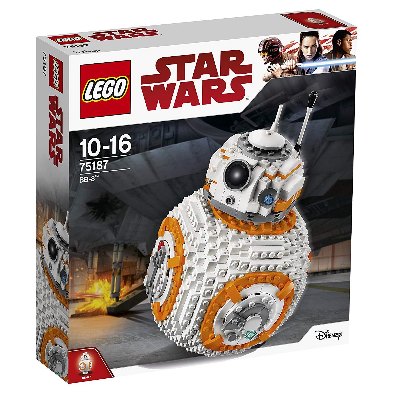 Lego BB8 75187 Star Wars The Last Jedi BB-8 Robot Toy £37.49 @ Amazon