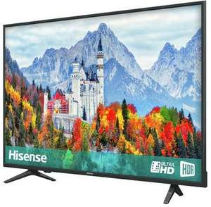43 Inch Hisense H43A6250UK Smart 4K UHD TV with HDR + 2 Year Warranty - £259 + Free C&C @ Argos