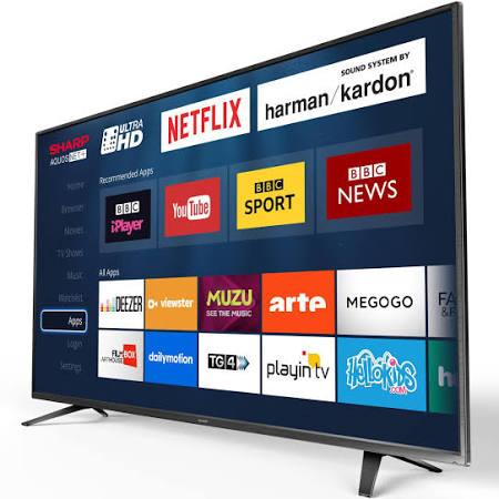 "Sharp Aquos LC 55CUG8052K - 55"" LED Smart TV - 4K UltraHD  £359 instore @ Tesco"