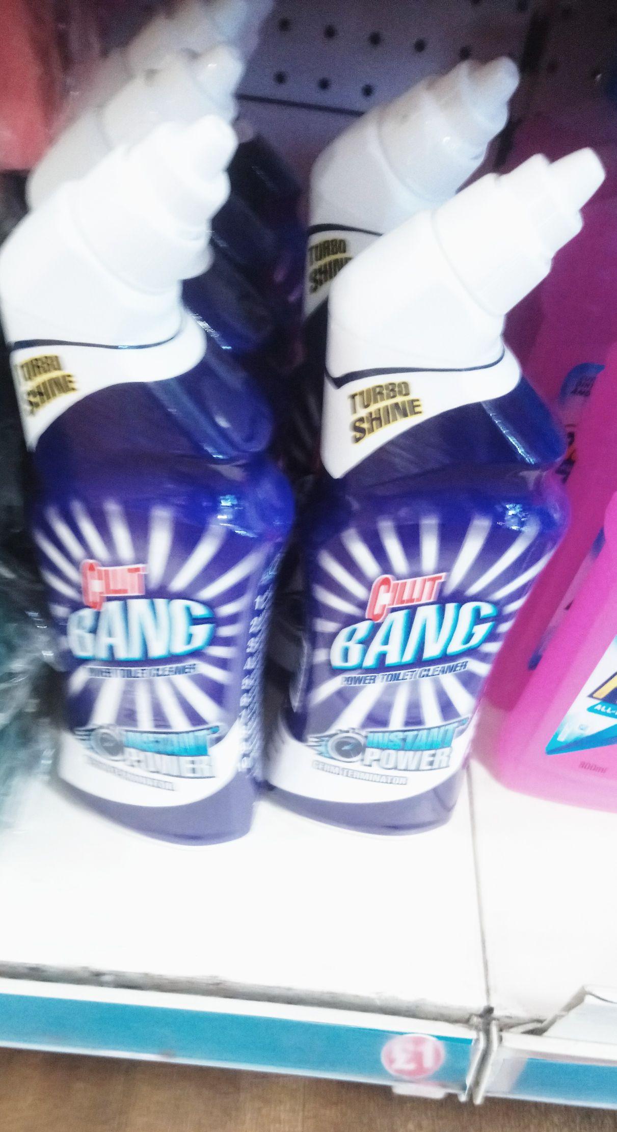 Poundland: Cilit Bang large bottle 750ml (Instant Power) £1