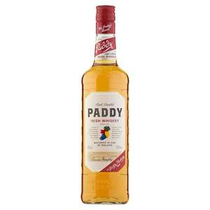 Paddy Irish Whiskey 70Cl £15 @ Tesco