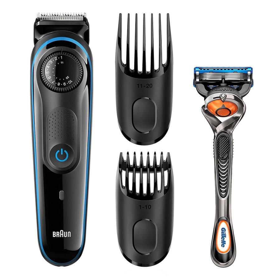 Braun BT3040 Beard Trimmer + Gillette Fusion ProGlide manual razor £17.99 @ Robert Dyas