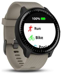 Garmin Vivoactive 3 Music Smart Watch - Sandstone - £149 @ Argos