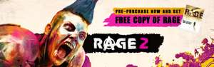 Pre-Order RAGE 2 for £33.59 and get a free copy of RAGE for PC @ Green Man Gaming