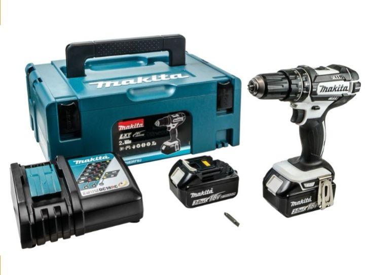 Makita DHP482RFWJ 18V 2 X 3.0Ah Li-Ion LXT Cordless Combi Drill £150 @ Wickes