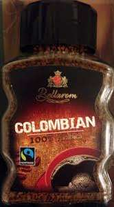 Lidl - Colombian fair trade coffee arabica 100g - £0.79