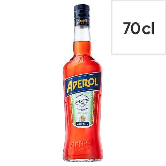 Aperol 70cl bottle was £15 now £10 @ Tesco