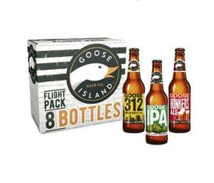 Goose Island Flight Pack - 8 bottles for £5.96 in-store at Costco