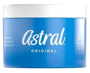 Astral Cream 500ml - better than half price - £3.95 @ Superdrug Free C&C