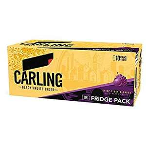 Carling Cider 18 Cans Pack RRP £16 - NOW ONLY £8!! Only 44p/can!! Nisa Coventry