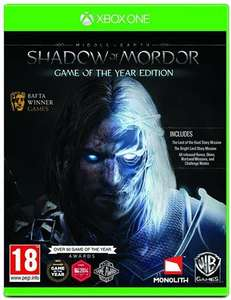 PreOwned Middle-Earth: Shadow of Mordor Game Of The Year Edition - £5 @ CeX (£1.99 delivery)