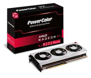 Powercolor Radeon Rx Vega Vii 16Gb Hbm2 Pci-Express Graphics Card at Overclockers for £599.99