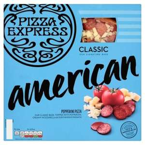 Pizza Express Large Pizza better than half price - £2.90 at Tesco