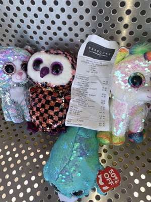 Ty Flippable Sequin Teddies - £5 @ Peacocks Liverpool extra 20% off sale price