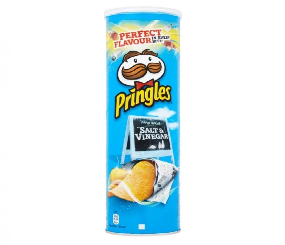 Pringles Salt & Vinegar 130g 79p @ Fultons Foods (Bury - best before 17/06/2019)