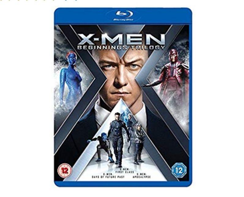X-Men: Beginnings Trilogy (Blu Ray, First Class, Apocalypse & DOFP) £7.29 @ Amazon Prime / £10.28 Non Prime