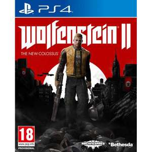 Wolfenstein 2: The New Colossus PS4 (pre-owned) £8.36 with code delivered @ MusicMagpie