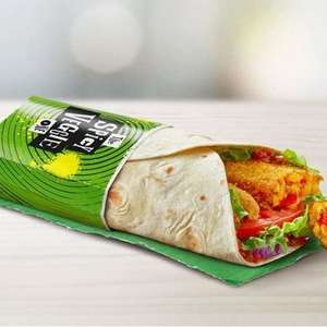 Free Spicy Veggie Wrap via McDonald's App for everyone worth £2.99