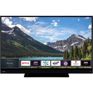 """Toshiba 55T6863DB 55"""" Smart 4K Ultra HD TV with HDR and Freeview Play £349 ao.com"""