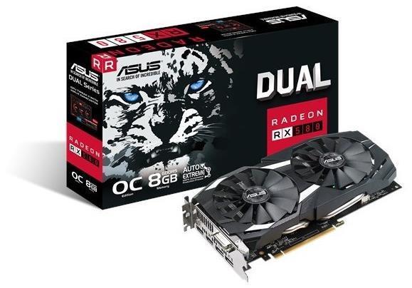 ASUS Radeon RX 580 DUAL 8GB OC Graphics Card £168.99 at BOX (2 games bonus)