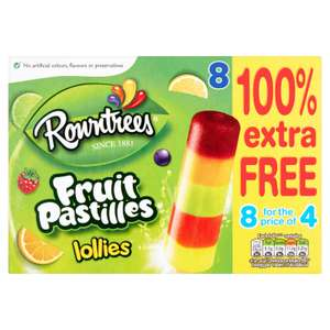 Fruit Pastilles & Fab Lollies 100% Extra Free £2.19 @ LIDL - 8 for the price of 4