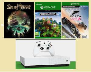 Microsoft Xbox One S Digital Version 1TB Hard Drive 3 Games for £181.44 with Code @ Ebay (Hughes)