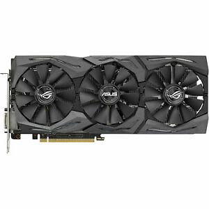 Refurb (6 Month Warranty) ASUS ROG STRIX Nvidia Geforce GTX 1070 8GB GDDR5 Graphic Card PCI Express - £237.59 @ laptopoutletdirect / eBay