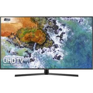 """Samsung UE55NU7400 55"""" 4K Ultra HD Smart HDR LED TV with Freeview HD and Freesat £467.97  Laptops Direct"""