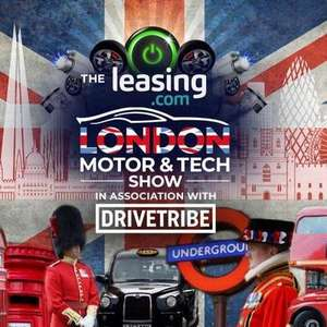 BOGOF Deal for The London Motor & Tech Show @ Excel Fri 17th May 2019