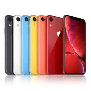 NEW Apple iPhone XR 64GB UNLOCKED SIM Free Smartphone in All Colours - £534 @ thebigphonestore eBay