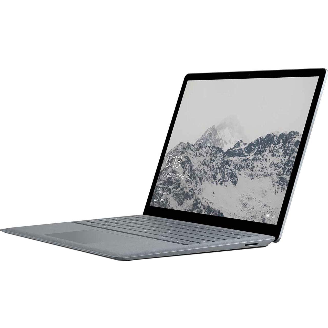 Microsoft 13.5-inch Touchscreen Surface Laptop - (Platinum) (Intel M-5Y70 Processor, 4 GB RAM, 128 GB SSD, Intel HD 5300) @ £499.99 @ Amazon