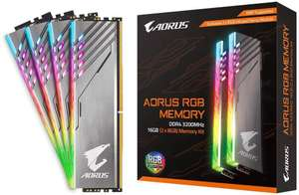 Gigabyte AORUS RGB 16GB (2x 8GB) DDR4 3200MHz RAM + 2x RGB Dummy Demo Kit (Limited Editiion) £149.99 Delivered at Box