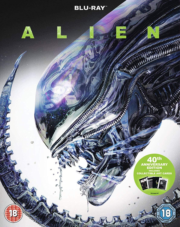 Alien 40th Anniversary Blu-ray NOW £7 at Amazon Prime / £9.99 Non Prime