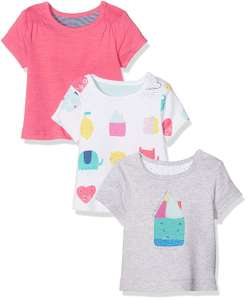 Happy Home T-Shirts - 3 Pack @ Amazon Add On £2.46