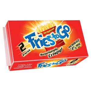Fries to Go 2pk x 2 for £2 @ B&M
