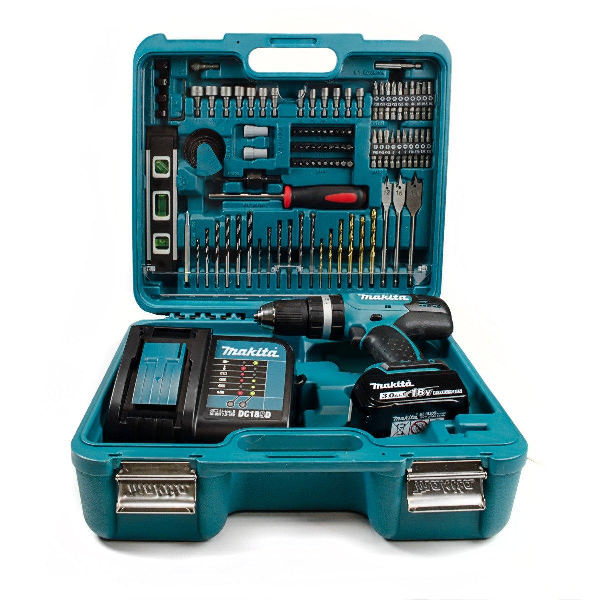 Makita DHP453 LXT Drill Kit - £124.90 @ lawson-his