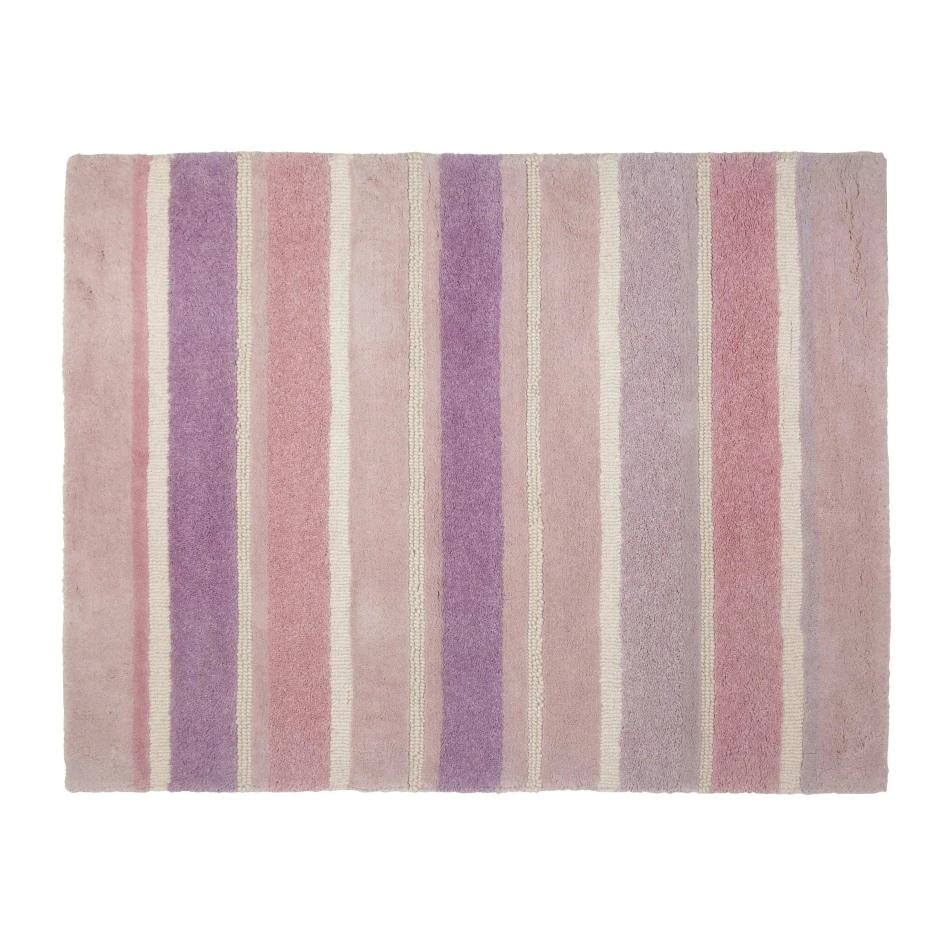 Bexley Pink Stripe Wool Rug W90cm L120cm @ Laura Ashley £35 (Free C&C)