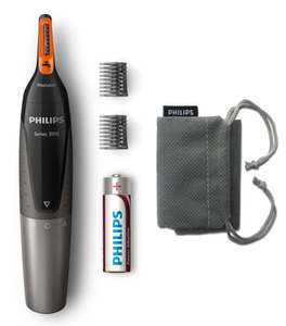 Philips Nose Trimmer Series 3000 for trimming nose, eyebrow and ear hair for £9.99 @ Lidl Store