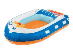 Playtive Junior Inflatable Boat, Aeroplane or Spaceship £5.99 instore @ Lidl from 19th
