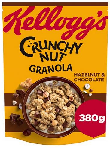 Kelloggs Crunchy Nut Granola 380g (From 15/05) - £1.50 @ Tesco