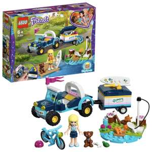 LEGO 41364 Friends Stephanie's Toy Buggy & Trailer, Stephanie mini-doll and Figures now £12.00 (Prime) / £16.49 (non Prime) @ Amazon Prime