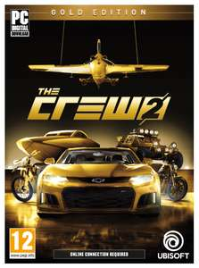 the crew 2 gold edition pc code uplay amazon. Black Bedroom Furniture Sets. Home Design Ideas