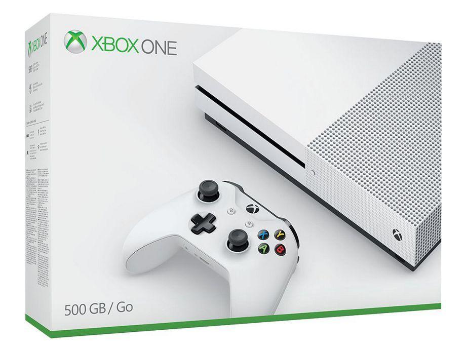 Refurbished Microsoft Xbox One S 500GB Console - White, £139.99 at Argos / Ebay