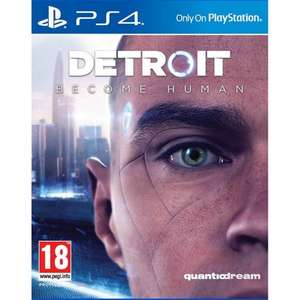 DETROIT: BECOME HUMAN PS4 (LIKE NEW) for £15.95 Delivered @ The Game Collection