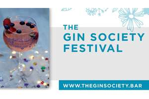2 tickets for the Gin Society Festival 12 locations inc a drink each, Copa glass & entertainment £13.25 / £6.63 pp instead of £25 @ Wowcher