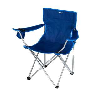 Isla Lightweight Folding Camping Festival Chair in Laser Blue was £25 now £5.96 with code + £1.99 Delivery at Regatta